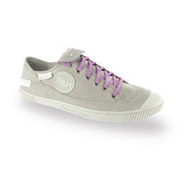 Flat trainers lavender cotton shoe laces length 90 cm