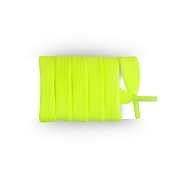 Sports shoes laces / flat sportswear neon yellow synthetic shoe lace length 90 cm