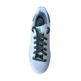 Sport shoes laces / sportswear green army flat shoes cotton lace length 110 cm