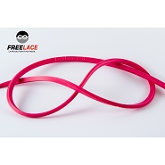 Silicone laces running and trail 110 cm neon pink