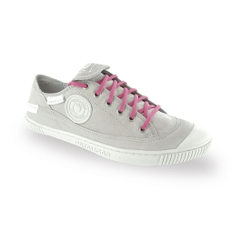 Flat trainers lychee rose cotton shoe laces length 90 cm