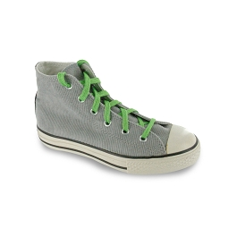 Lace your shoes with these coloured flat neon green shoelaces.